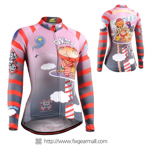 FIXGEAR CS-W1601 Women's Long Sleeve Cycling Jersey
