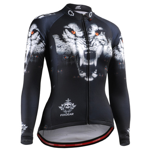 CS-W1801 Women's Long Sleeve Cycling Jersey