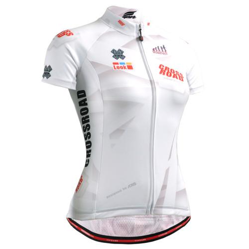 FIXGEAR CS-W1402 Women's Short Sleeve Cycling Jersey FRONT