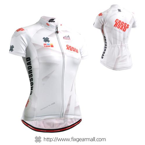FIXGEAR CS-W1402 Women's Short Sleeve Cycling Jersey