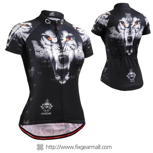 FIXGEAR CS-W1802 Women's Short Sleeve Cycling Jersey