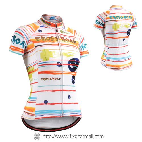 FIXGEAR CS-W2002 Women's Short Sleeve Cycling Jersey