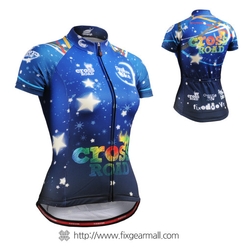 FIXGEAR CS-W2302 Women's Short Sleeve Cycling Jersey