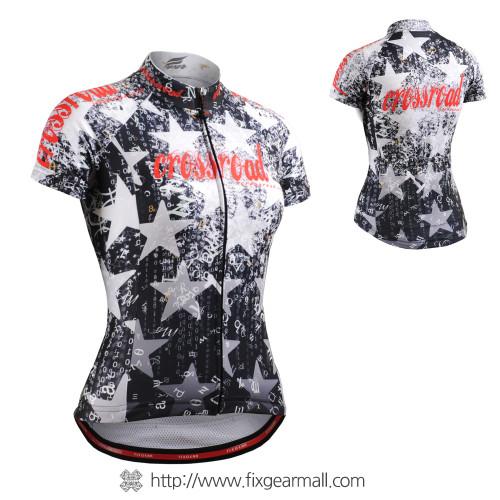 FIXGEAR CS-W2402 Women's Short Sleeve Cycling Jersey