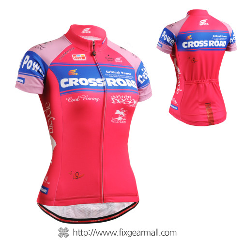 FIXGEAR CS-W7P2 Women's Short Sleeve Cycling Jersey