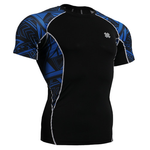 FIXGEAR C2S-B1 Compression Base Layer Shirts Short Sleeve front view