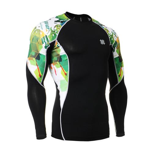 FIXGEAR C2L-B47 Compression Base Layer Long Sleeve Shirts