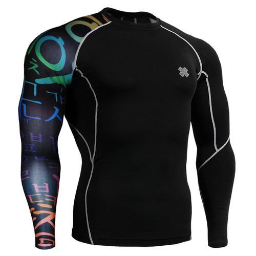 FIXGEAR CP-B3 Compression Base Layer Shirts front view