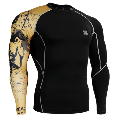 FIXGEAR CP-B32 Compression Base Layer Shirts Front