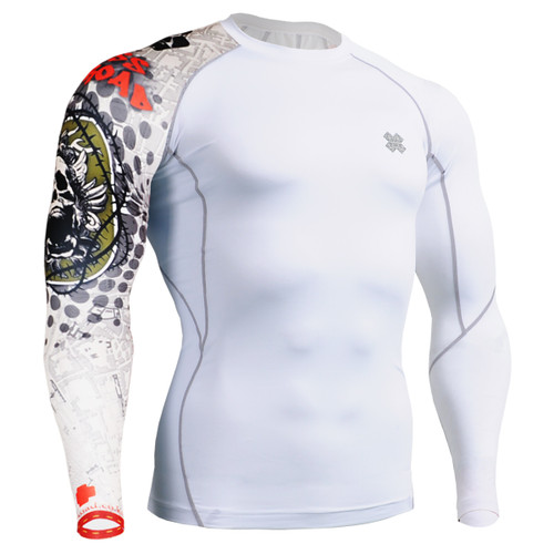 FIXGEAR CP-W5 Compression Base Layer Shirts Front