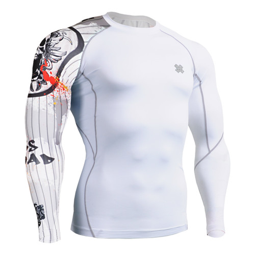 FIXGEAR CP-W9 Compression Base Layer Shirts Front
