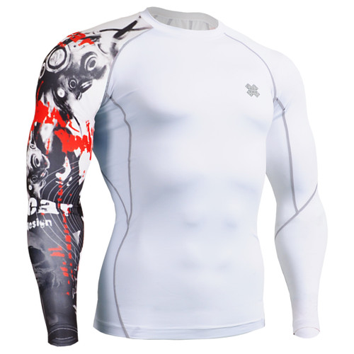 FIXGEAR CP-W30 Compression Base Layer Shirts Front