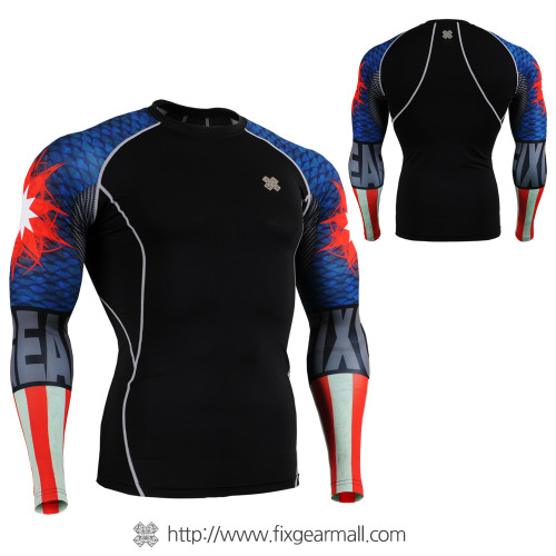 FIXGEAR CPD-B37 Compression Base Layer Shirts