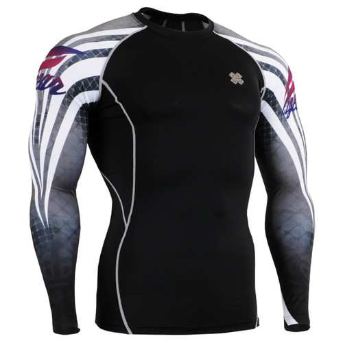 FIXGEAR CPD-B38 Compression Base Layer Shirts front