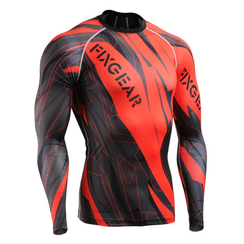 FIXGEAR CFL-68 Compression Base Layer Shirts front view
