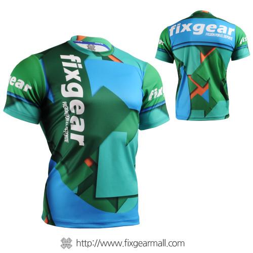 FIXGEAR RM-51B2 T-Shirts Men's Crew-Neck Sports Tee