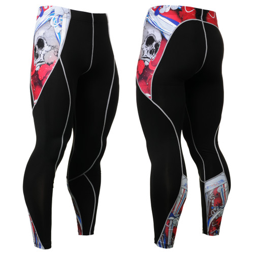FIXGEAR P2L-B19R Compression Leggings Pants View