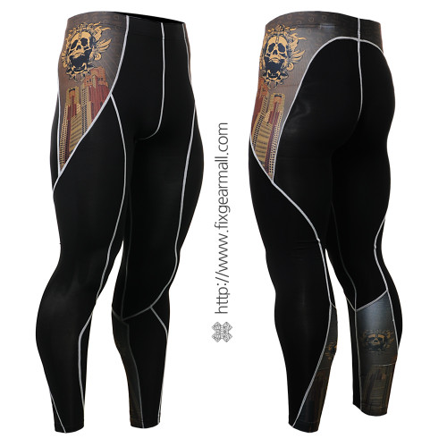 FIXGEAR P2L-B27 Compression Leggings Pants