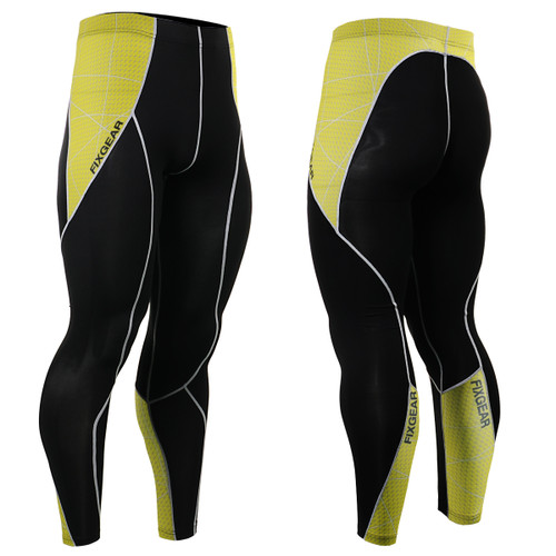 FIXGEAR P2L-B70Y Compression Leggings Pants View