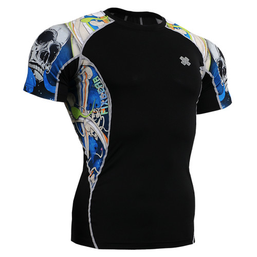 FIXGEAR C2S-B19B Compression Shirts Base Layer Short Sleeve front view