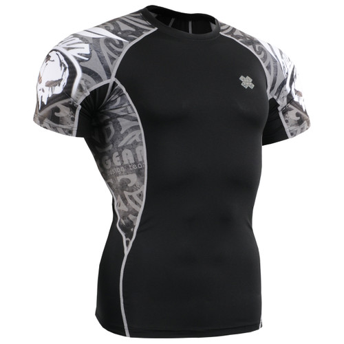 FIXGEAR C2S-B43 Compression Shirts Base Layer Short Sleeve Front