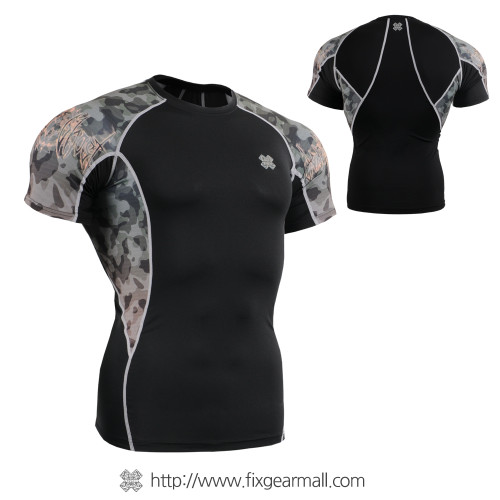 FIXGEAR C2S-B45 Compression Shirts Base Layer Short Sleeve
