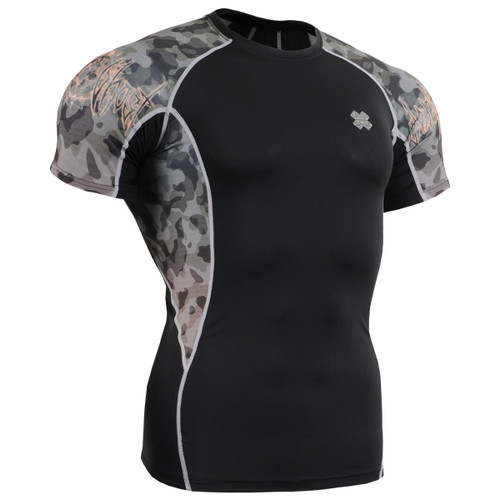 FIXGEAR C2S-B45 Compression Shirts Base Layer Short Sleeve front