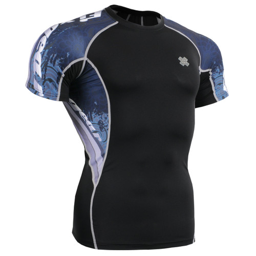 FIXGEAR C2S-B48 Compression Shirts Base Layer Short Sleeve Front
