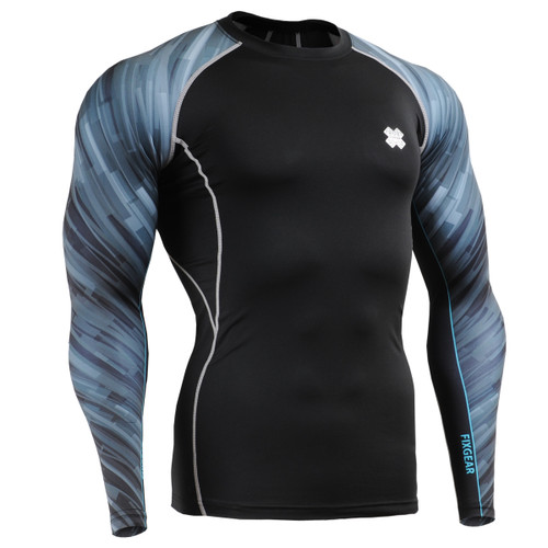 FIXGEAR CPD-B67 Compression Base Layer Shirts front view