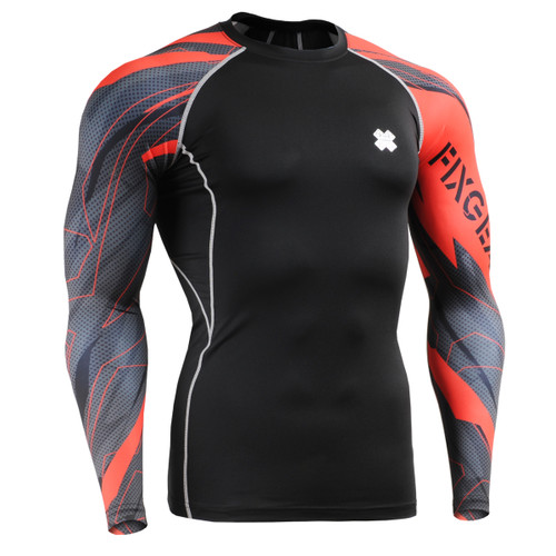 FIXGEAR CPD-B68 Compression Base Layer Shirts front view