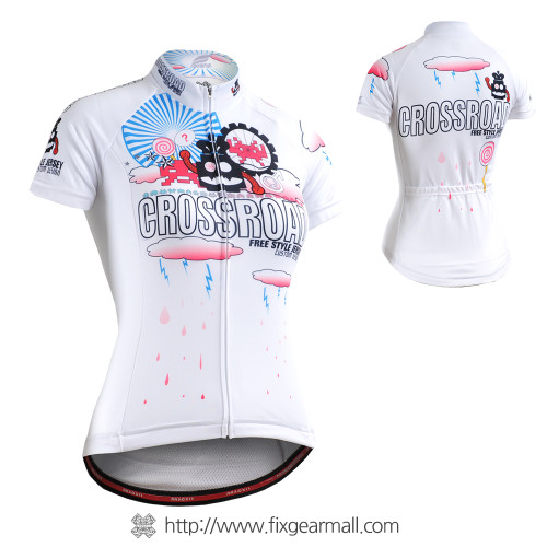 FIXGEAR CS-W2902 Women's Short Sleeve Cycling Jersey