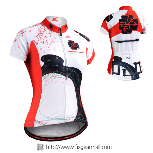 FIXGEAR CS-W2502 Women's Short Sleeve Cycling Jersey