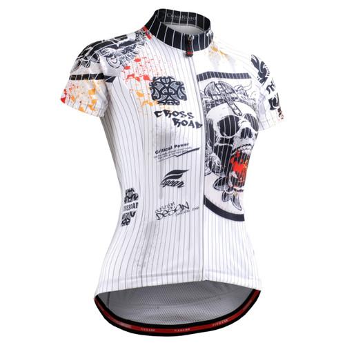 FIXGEAR CS-W902 Women's Short Sleeve Cycling Jersey front view