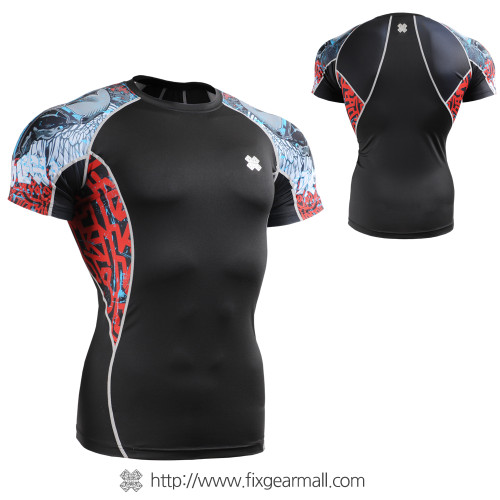 FIXGEAR C2S-B73 Compression Shirts Base Layer Short Sleeve