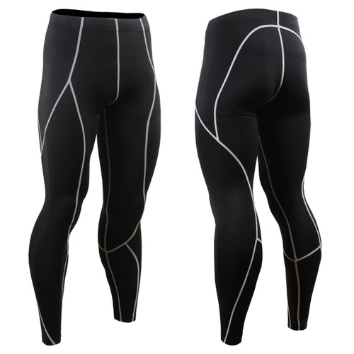 FIXGEAR P2L-BS Compression Leggings Pants front