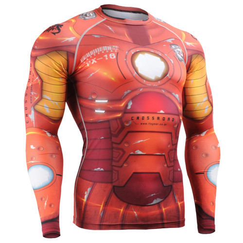 FIXGEAR CFL-8 Compression Base Layer Shirts Front