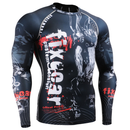 FIXGEAR CFL-30 Compression Base Layer Shirts Front