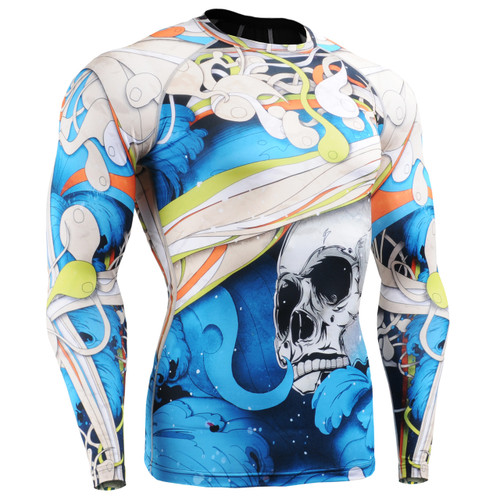 FIXGEAR CFL-19B Compression Base Layer Shirts Front