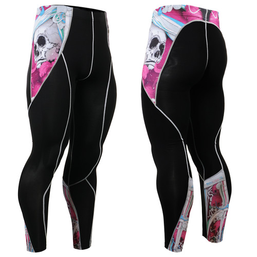 FIXGEAR P2L-B19P Compression Leggings Pants View