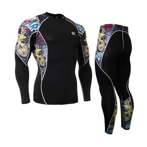 FIXGEAR C2L/P2L-B44 Compression Shirts/Tights Set