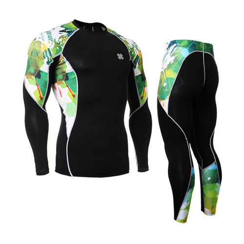 FIXGEAR C2L/P2L-B47 Compression Shirts/Tights Set