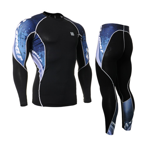 FIXGEAR C2L/P2L-B48 Compression Shirts/Tights Set