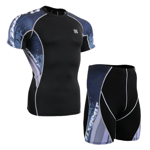 FIXGEAR C2S/P2S-B48 Compression Short Sleeve Shirt/Shorts Set