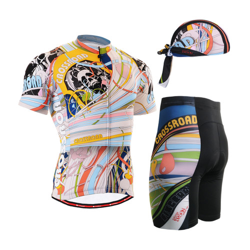 FIXGEAR Men's Cycling Jerseys & Padded Shorts CS-302 SET
