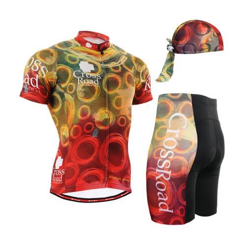FIXGEAR Men's Cycling Jerseys & Padded Shorts CS-402 SET