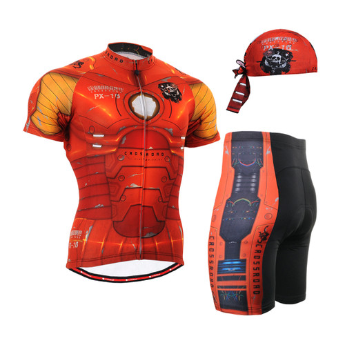 FIXGEAR Men's Cycling Jerseys & Padded Shorts CS-802 SET