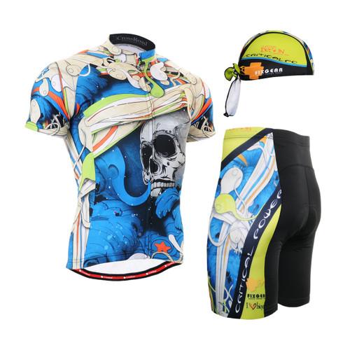FIXGEAR Men's Cycling Jerseys & Padded Shorts CS-19B2 SET