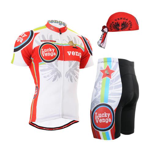 FIXGEAR Men's Cycling Jerseys & Padded Shorts CS-g102 SET