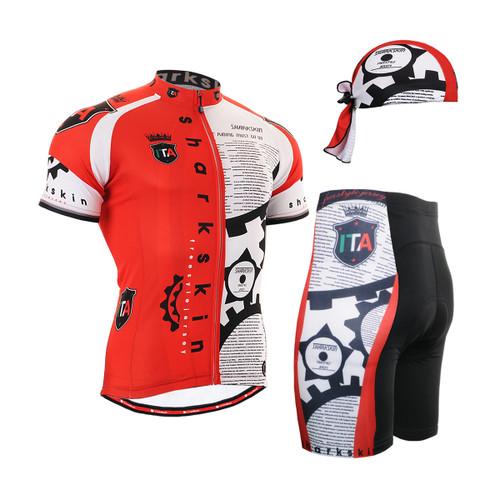 FIXGEAR Men's Cycling Jerseys & Padded Shorts CS-g402 SET