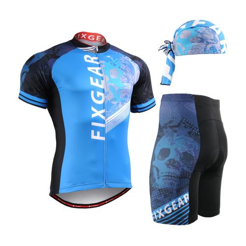 FIXGEAR Men's Cycling Jerseys & Padded Shorts CS-4602 SET